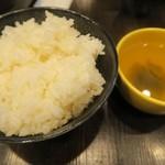 立喰焼肉てんろく - ごはんとスープはセルフ