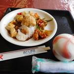 国民宿舎 赤とんぼ荘 - 料理写真:中華系料理