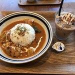 kawara CAFE&DINING - ハニーバターチキンカレー☆