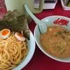ラーメン山岡家 - 料理写真:醤油つけ麺 味玉トッピング