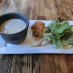 ジスタンプ トウキョウ - スープ、前菜