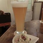 クラフトビアサーバーランド - 福島地ビール/桃のラガー840円