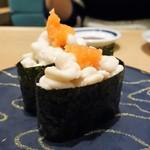 磯のがってん寿司 - 真鱈の白子軍艦