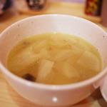 やきとり とり志 - スープ~☆