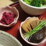 天ぷら やす田 - もうタケノコです