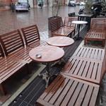 Cafe 1923 - 雨と寒い時はダメですが気候の良い時期にはテラスでお茶もイイでしょうね