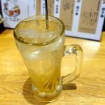 鶏出汁おでん とりばか - 国産生姜サワー500円+