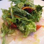 バランチェッタ - 鮮魚のカルパッチョ