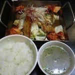 アジアン料理 友 - 鉄板デジプルコギ定食