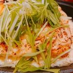 うどんダイニング 弥栄 - チーズ玉子鉄板