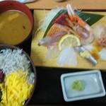80198610 - 海鮮丼ランチ ¥1050