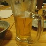 元祖もつ鍋 博多屋 - 生ビール