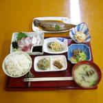 夜明茶屋 - 料理写真:有明の幸定食