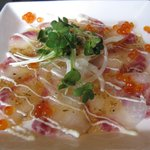 天然素材 海家 - 鮮魚のカルパッチョ