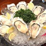 牡蠣処 クーガ - 生牡蠣4種盛り合わせ 2,160円×2