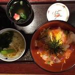 Hanayayohei - 海鮮丼うどんセット