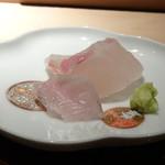 菊鮨 - ◆鮃(平戸)・・ネットリ感もいいですし、美味しい。エンガワが厚くとても美味しい。