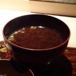 菊鮨 - ◆赤だし。