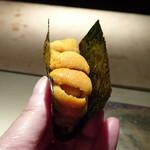 菊鮨 - ◆雲丹・・バフンウニは美しく美味しい。