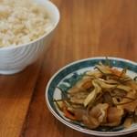 mammacafe151A - ご飯のお供(松前漬け)