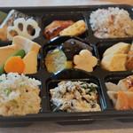 mammacafe151A - お花見弁当(要予約)