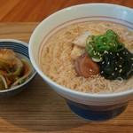 mammacafe151A - にゅう麺(朝ご飯メニュー)
