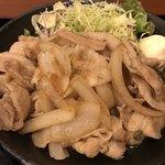 マルハチ商店 - ☆豚バラ生姜焼き定食☆