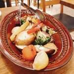 ピッツェリア ダ チーボ - 旬の野菜の窯焼き 気に入った!
