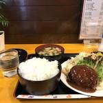 神戸一 - 日替わりのハンバーグ定食(2018.1.31)