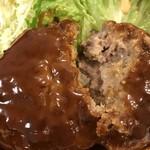 神戸一 - 肉がしっかり、美味しいハンバーグです♪(2018.1.31)