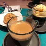 焼肉 炭聖 - エスプレッソ&キャラメルアイス