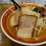 拉麺アイオイ - 料理写真:「みそラーメン」 アップ