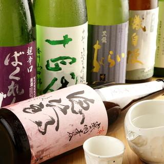 豊富な京都地酒・日本酒
