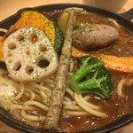スープカレー専門店 モンキー スパイス - 料理写真:鉄板あんかけスパ1060円