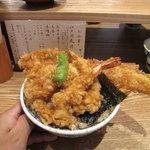 天丼 金子半之助 - 江戸前天丼 なんと880円!!!