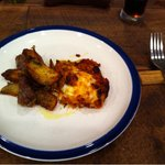 Bistro Musui - 羊?ソーセージの料理と、ラザニア