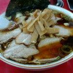 笹舟 - チャーシュー麺特盛り850円