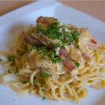 レストラン CALMA - 料理写真:濃厚カルボナーラ キターラ
