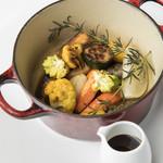 ビストロ・ダルテミス - こだわり野菜のココット蒸し