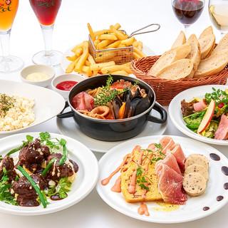 各種宴会に!ベルギー伝統料理を堪能できるコース!