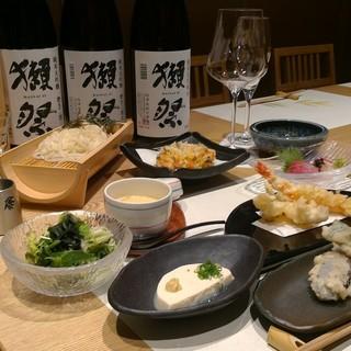日本酒飲み放題天ぷらコースが新登場!03-6226-5622