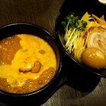 80214215 - 味玉黄金つけ麺(並):990円