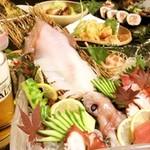 創作話食 藤ノ家 - 呼子のイカ