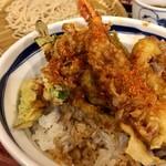 信州屋 - 天丼&もり@640円  いやぁ美味しかった!