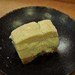 楓 Fu - チーズケーキ風豆腐ケーキ