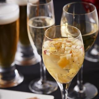 オーガニックワインなど豊富に取り揃えたワイン