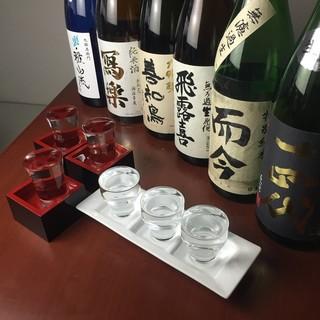 入手困難な日本酒を蕎麦前とともに!