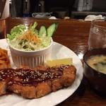 喫茶萩 - ロースカツセット(コーヒー付):890円