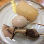 おじいちゃんのつくったラーメン ひらたラーメン - 料理写真:おでんをセルフで。玉子・大根・焼き豚