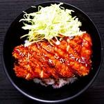 あぶりどり バリ鳥 - ソースカツ丼
